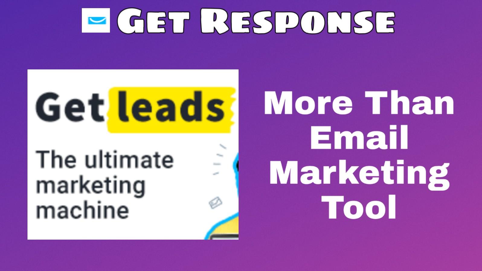 Getresponse - more than email marketing
